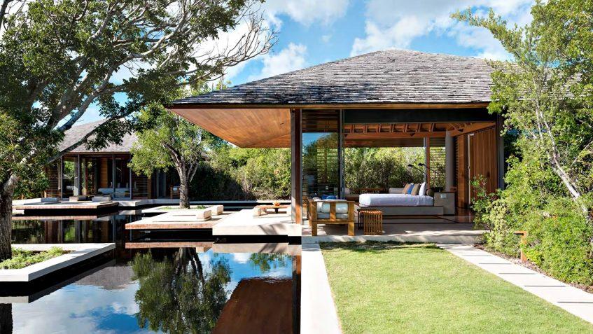 Amanyara Luxury Resort - Providenciales, Turks and Caicos Islands - 3 Bedroom Tranquility Villa Exterior Bedroom View