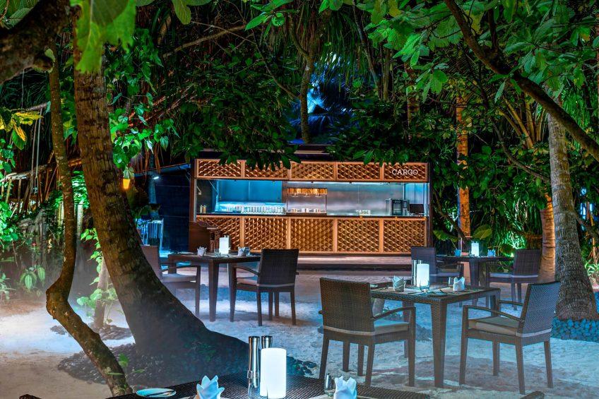 The St. Regis Maldives Vommuli Luxury Resort - Dhaalu Atoll, Maldives - Cargo Restaurant Middle Eastern