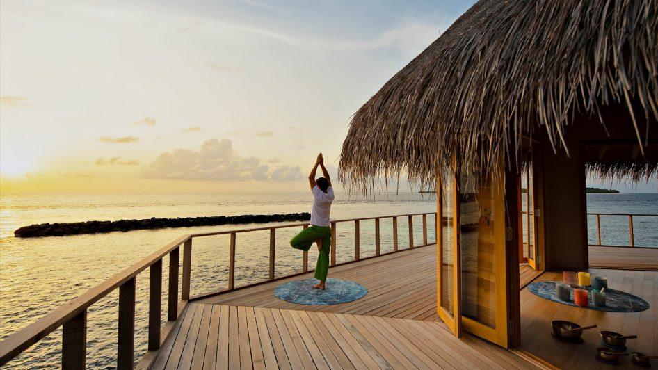 The Nautilus Maldives Luxury Resort - Thiladhoo Island, Maldives - Sunset Yoga