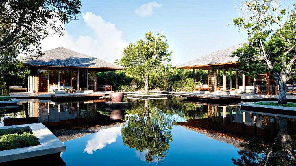 Amanyara Luxury Resort - Providenciales, Turks and Caicos Islands - 3 Bedroom Tranquility Villa Exterior Bedroom Water View