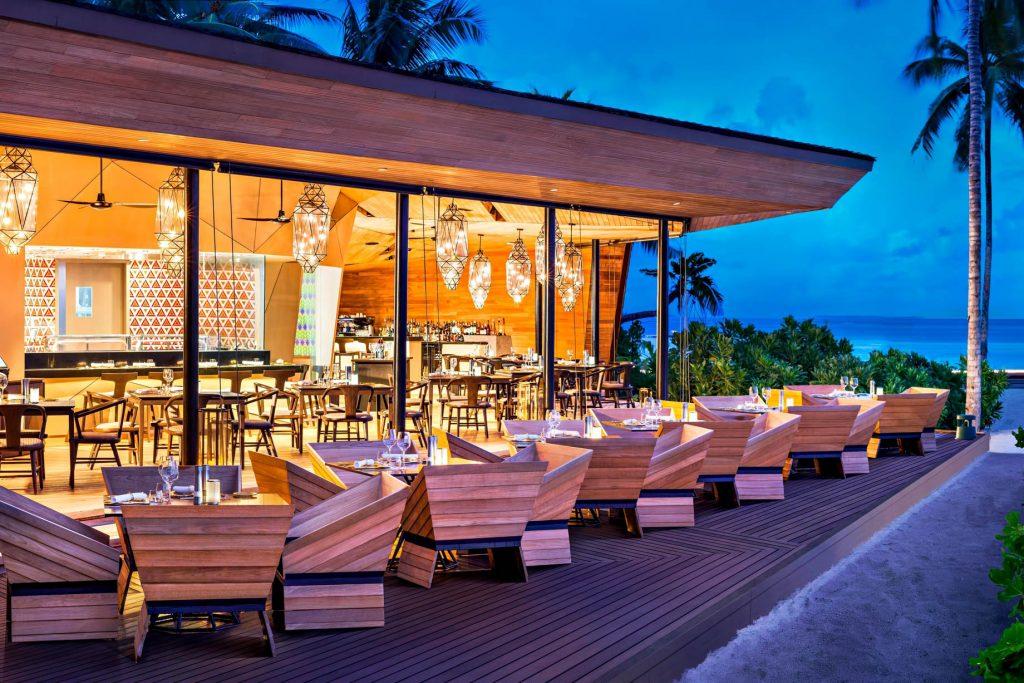 The St. Regis Maldives Vommuli Luxury Resort - Dhaalu Atoll, Maldives - Orientale Restaurant Exterior