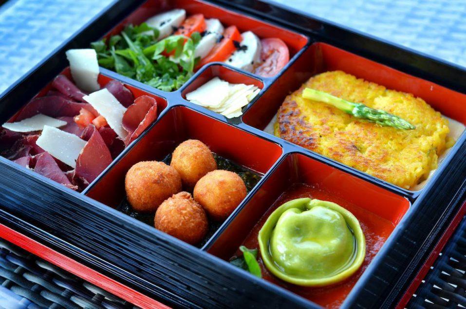 The St. Regis Abu Dhabi Luxury Hotel - Abu Dhabi, United Arab Emirates - Gourmet Bento Box