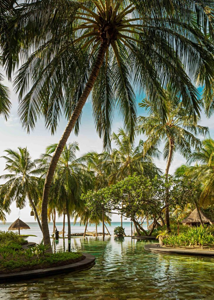 One&Only Reethi Rah Luxury Resort - North Male Atoll, Maldives - Resort Main Pool