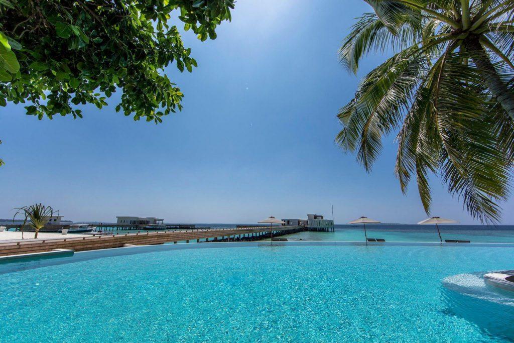 Amilla Fushi Luxury Resort and Residences - Baa Atoll, Maldives - Beachfront Infinity Edge Pool Oceanview