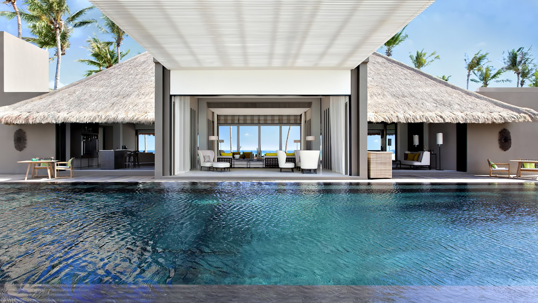Cheval Blanc Randheli Luxury Resort - Noonu Atoll, Maldives - Exclusive Private Island Villa Pool