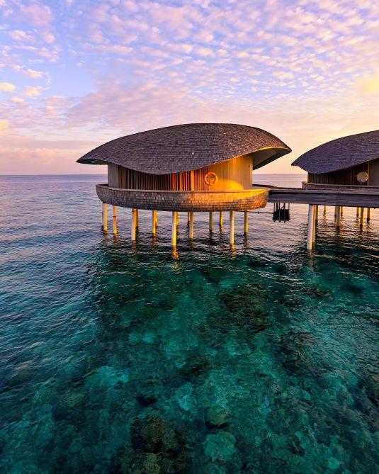 The St. Regis Maldives Vommuli Luxury Resort - Dhaalu Atoll, Maldives - Dusk