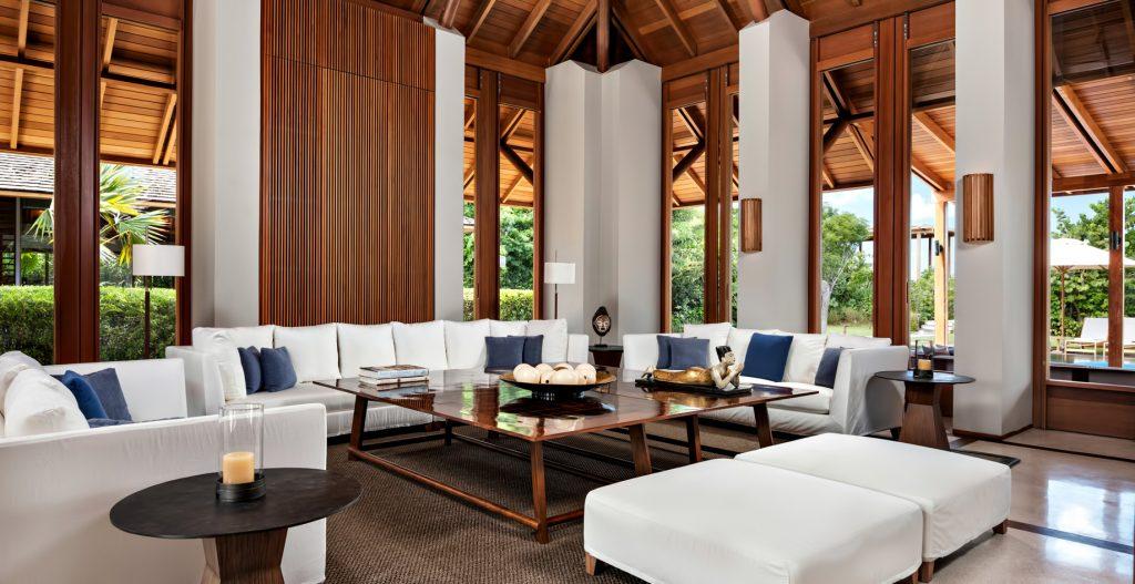 Amanyara Luxury Resort - Providenciales, Turks and Caicos Islands - Villa Living Room