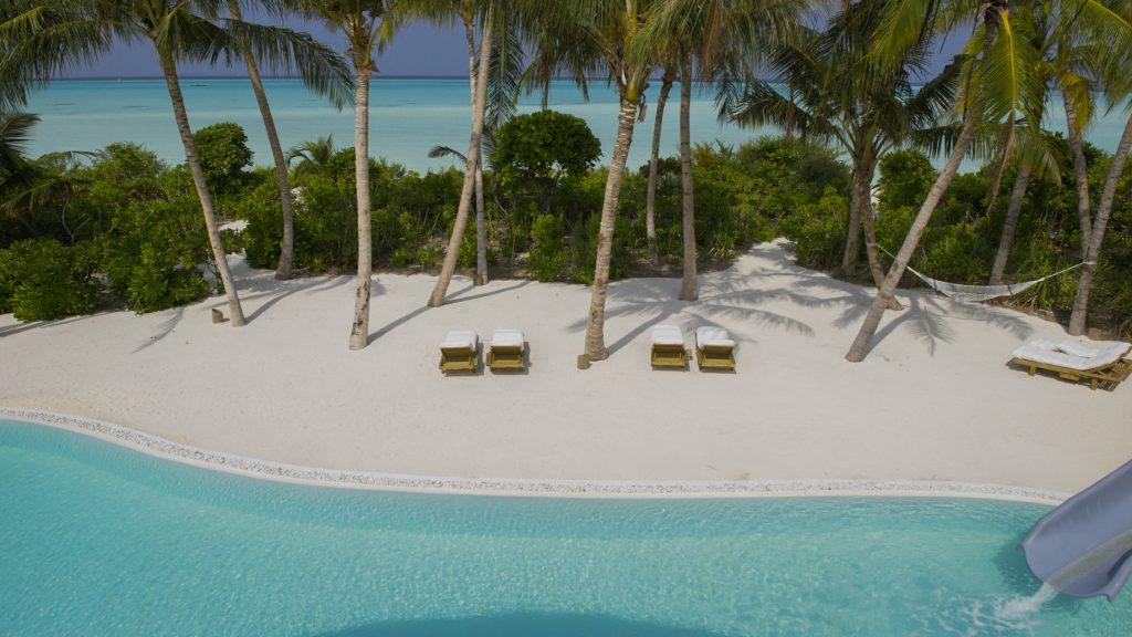 Soneva Jani Luxury Resort - Noonu Atoll, Medhufaru, Maldives - 4 Bedroom Island Reserve Villa Beachfront Pool