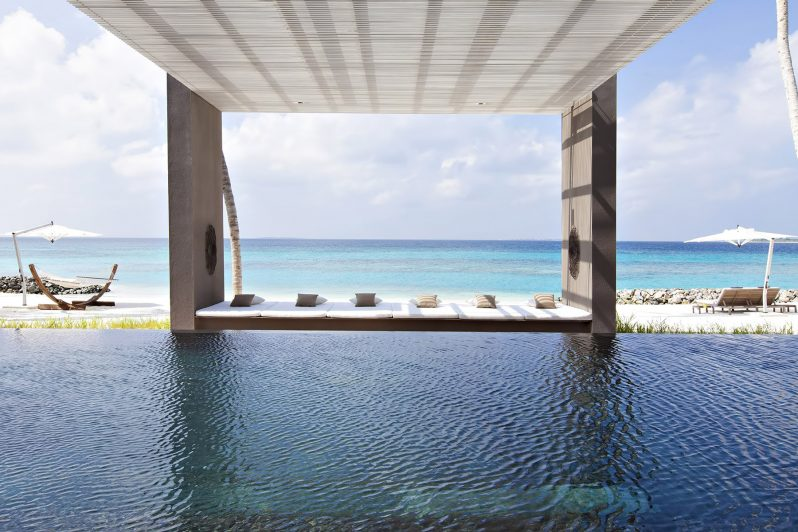 Cheval Blanc Randheli Luxury Resort - Noonu Atoll, Maldives - Exclusive Private Island Villa Pool Ocean View
