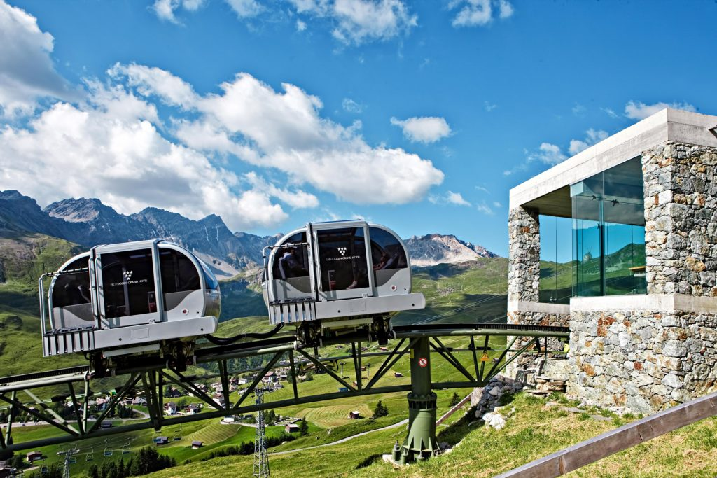 Tschuggen Grand Luxury Hotel - Arosa, Switzerland - Tschuggen Express Summer