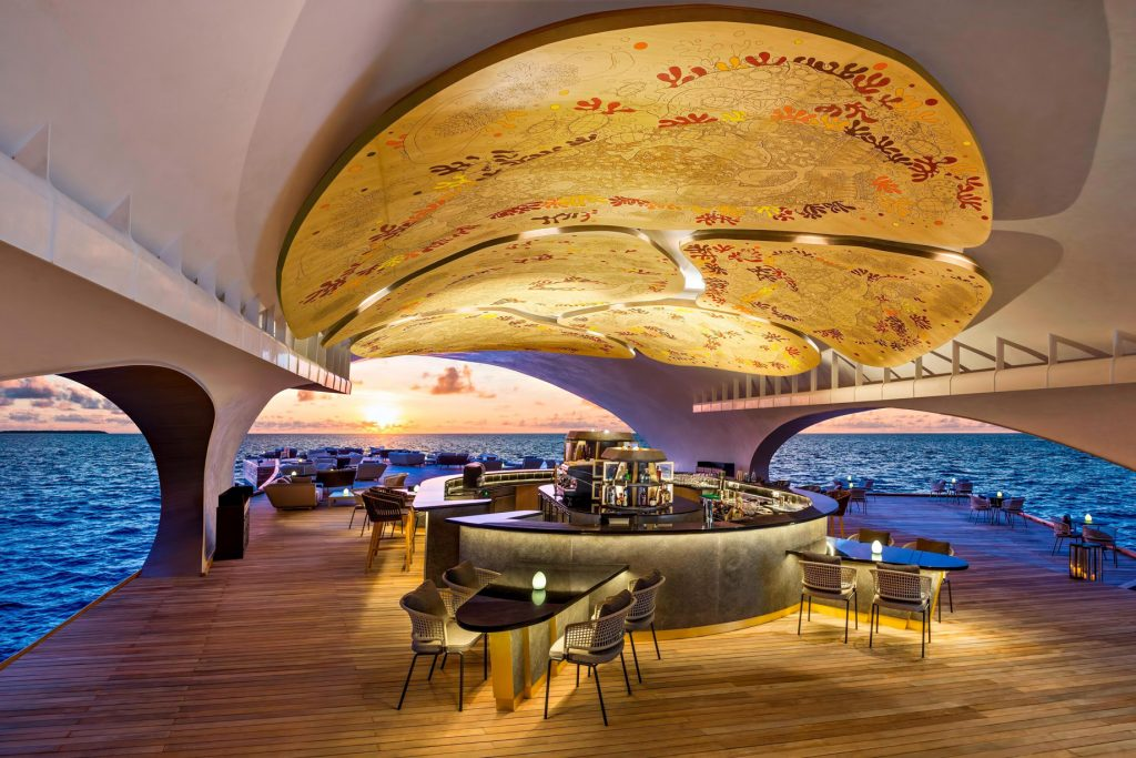 The St. Regis Maldives Vommuli Luxury Resort - Dhaalu Atoll, Maldives - The Whale Bar Tapas