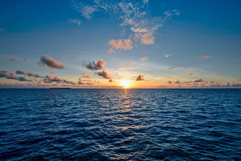 The St. Regis Maldives Vommuli Luxury Resort - Dhaalu Atoll, Maldives - Sunset