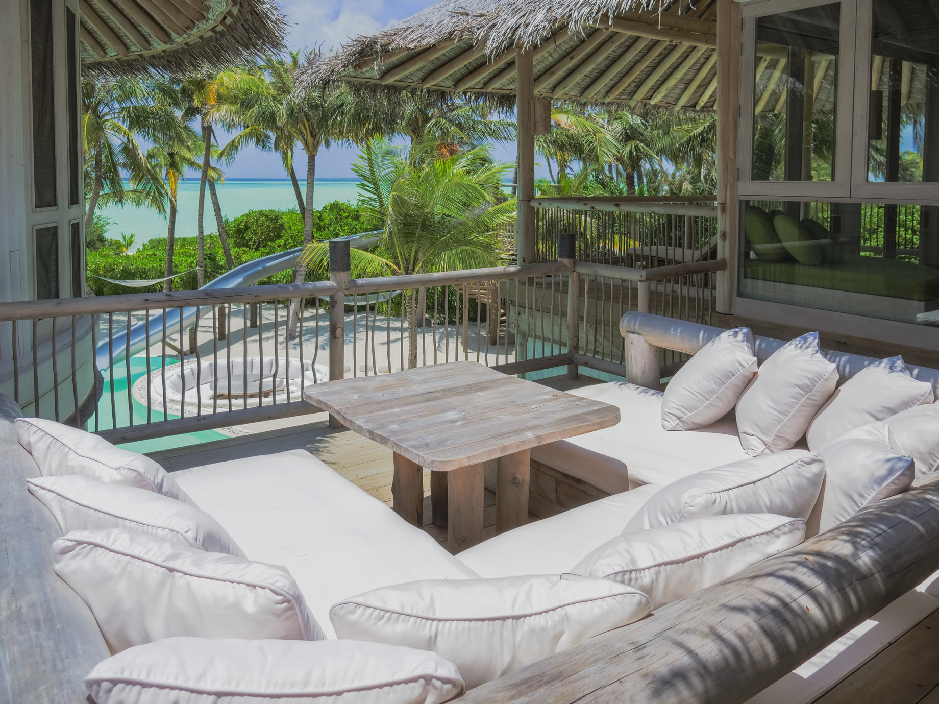 Soneva Jani Luxury Resort - Noonu Atoll, Medhufaru, Maldives - 4 Bedroom Island Reserve Villa Upper Deck Ocean View