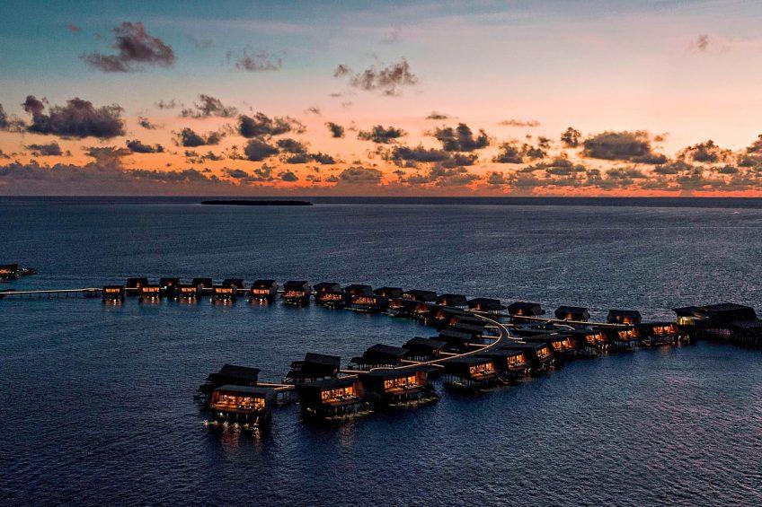 The St. Regis Maldives Vommuli Luxury Resort - Dhaalu Atoll, Maldives - Sunset Overwater Villas