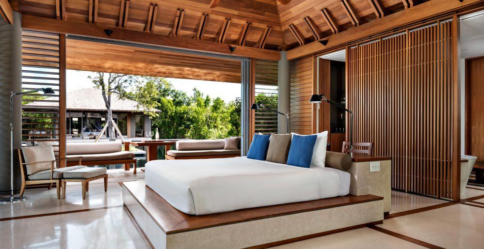 Amanyara Luxury Resort - Providenciales, Turks and Caicos Islands - Villa Bedroom