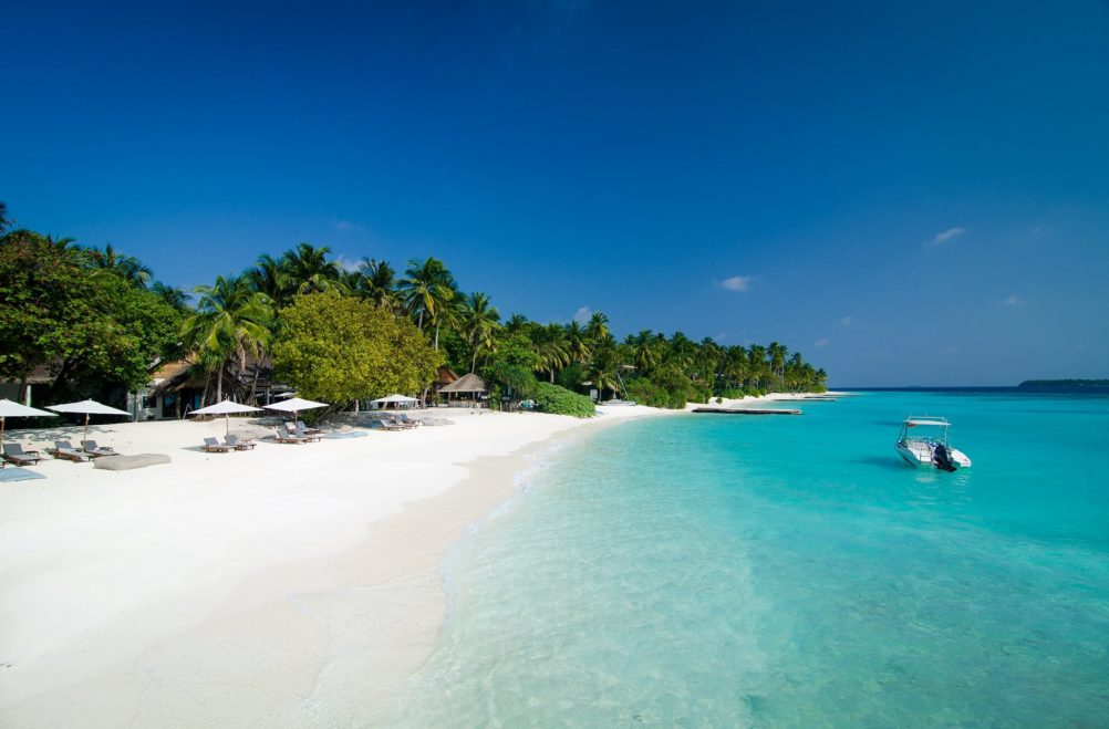 Amilla Fushi Luxury Resort and Residences - Baa Atoll, Maldives - Resort White Sand Beach