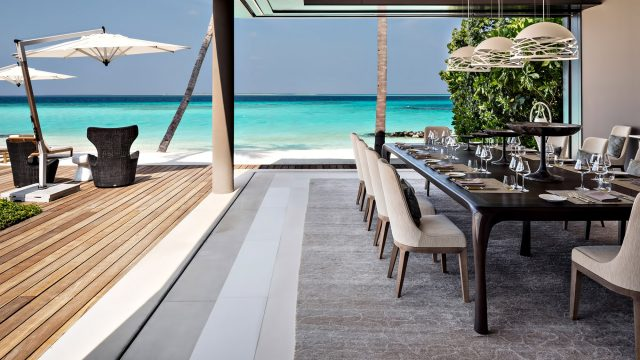 Cheval Blanc Randheli Luxury Resort - Noonu Atoll, Maldives - Exclusive Private Island Villa Interior Exterior Living Design