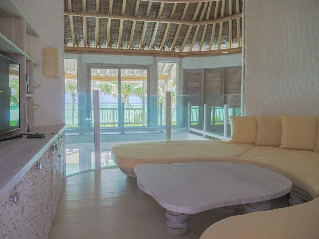 Soneva Jani Luxury Resort - Noonu Atoll, Medhufaru, Maldives - 4 Bedroom Island Reserve Villa Lounge