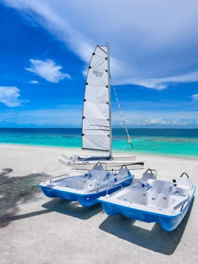 Joali Maldives Luxury Resort - Muravandhoo Island, Maldives - Paddle and Sail Boats