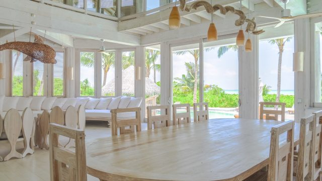 Soneva Jani Luxury Resort - Noonu Atoll, Medhufaru, Maldives - 4 Bedroom Island Reserve Villa Living Area