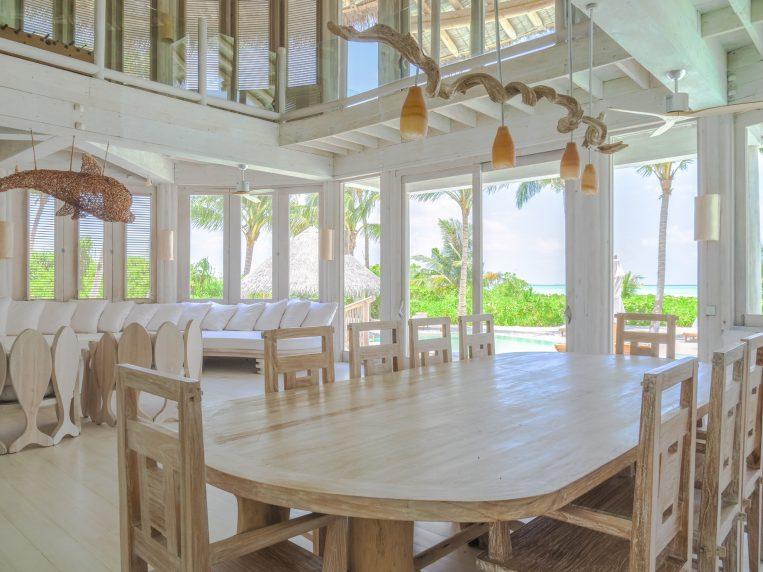 Soneva Jani Luxury Resort - Noonu Atoll, Medhufaru, Maldives - 4 Bedroom Island Reserve Villa Living Area