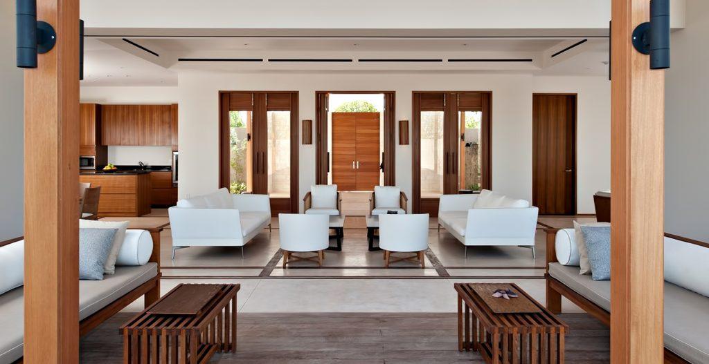 Amanyara Luxury Resort - Providenciales, Turks and Caicos Islands - Villa Living Area