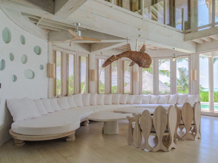 Soneva Jani Luxury Resort - Noonu Atoll, Medhufaru, Maldives - 4 Bedroom Island Reserve Villa Living Area Lounge