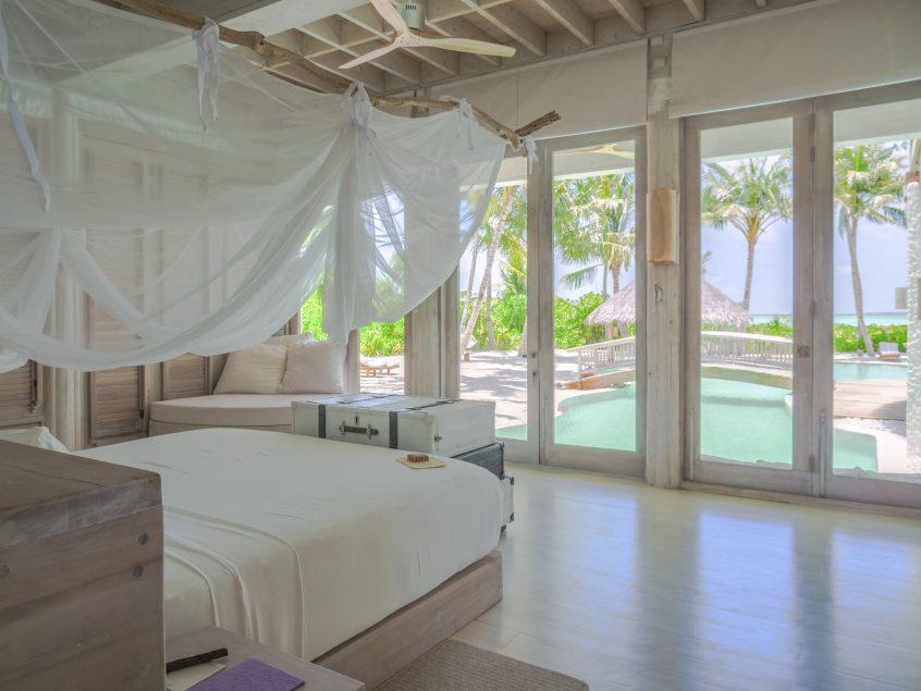 Soneva Jani Luxury Resort - Noonu Atoll, Medhufaru, Maldives - 4 Bedroom Island Reserve Villa Bedroom