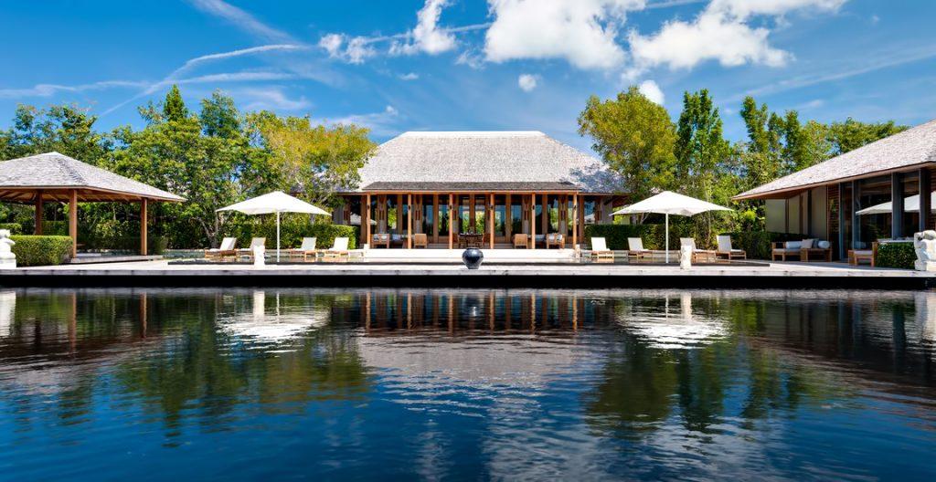 Amanyara Luxury Resort - Providenciales, Turks and Caicos Islands - Villa Exterior Reflecting Pond Overwater View
