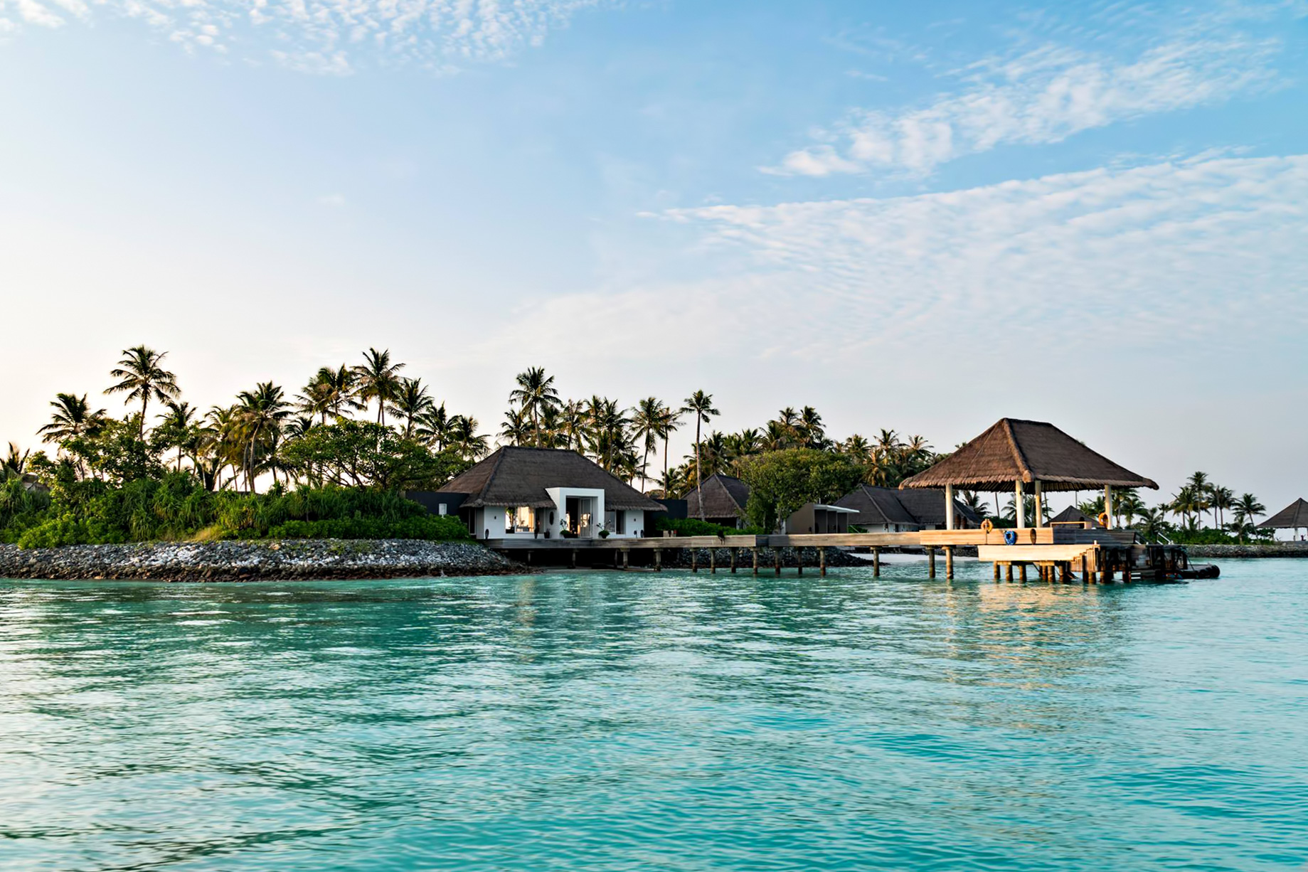 Cheval Blanc Randheli Luxury Resort - Noonu Atoll, Maldives - Private Island Boat Dock