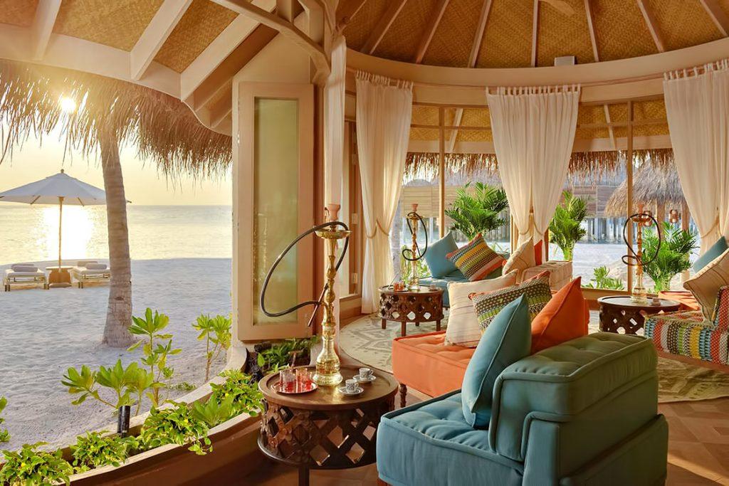 The Nautilus Maldives Luxury Resort - Thiladhoo Island, Maldives - Beachfront Lounge