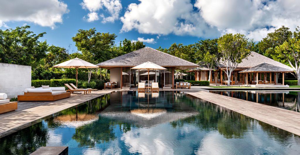 Amanyara Luxury Resort - Providenciales, Turks and Caicos Islands - Villa Exterior Infinity Pool Overwater View