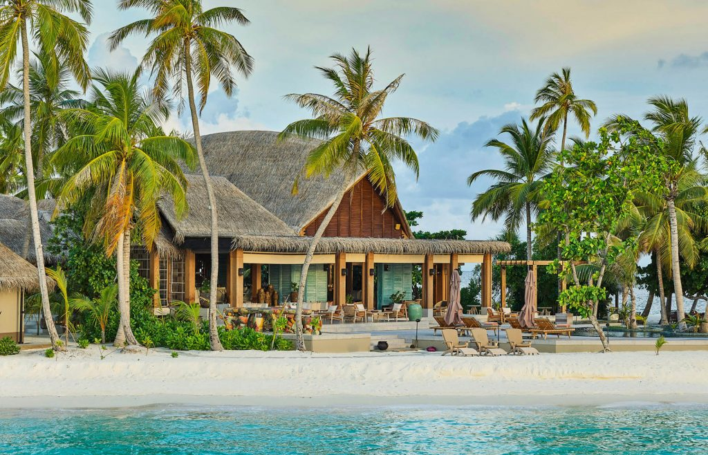 Joali Maldives Luxury Resort - Muravandhoo Island, Maldives - Mura Bar Beachfront View