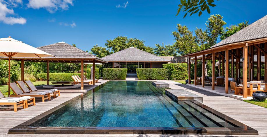 Amanyara Luxury Resort - Providenciales, Turks and Caicos Islands - Villa Exterior Pool