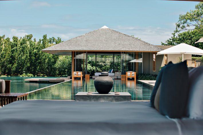 Amanyara Luxury Resort - Providenciales, Turks and Caicos Islands - Villa Exterior Pool Deck View