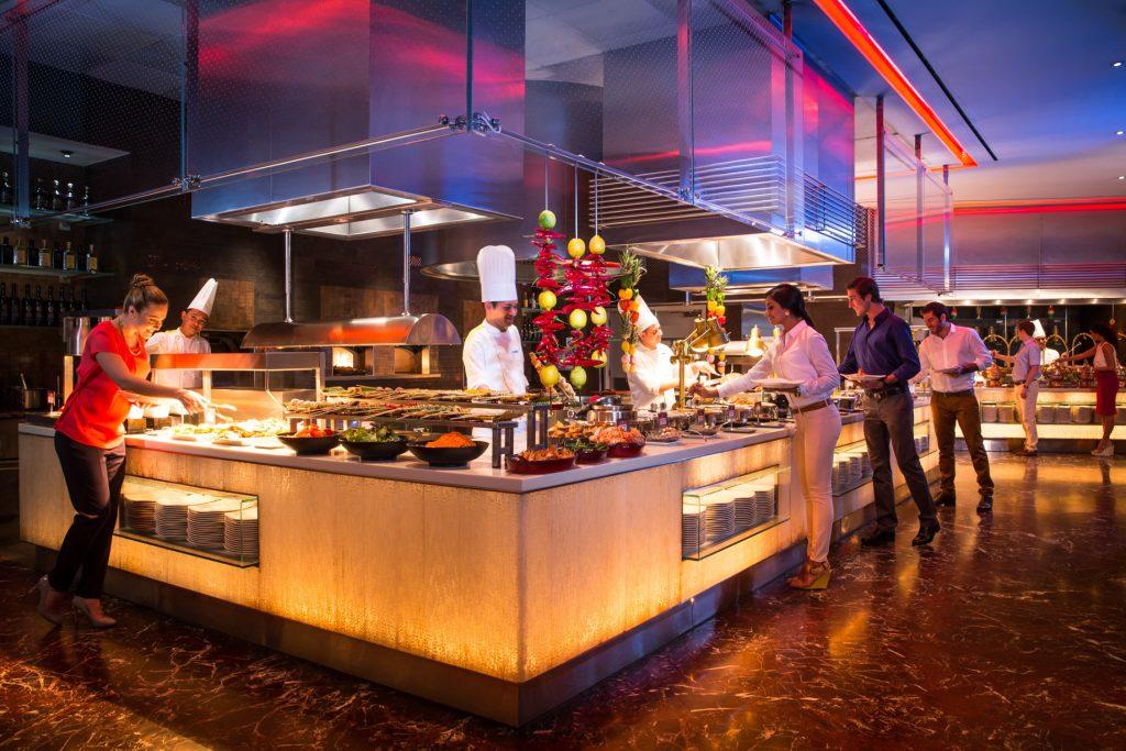 Atlantis The Palm Luxury Resort - Crescent Rd, Dubai, UAE - Saffron Restaurant