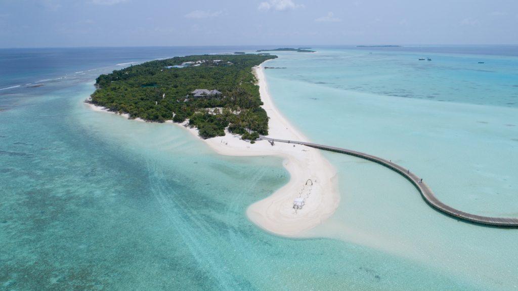 Soneva Jani Luxury Resort - Noonu Atoll, Medhufaru, Maldives - Private Island Aerial View