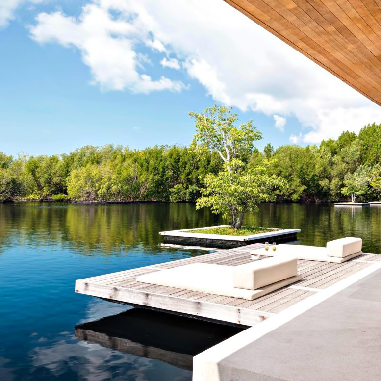 Amanyara Luxury Resort - Providenciales, Turks and Caicos Islands - Villa Reflecting Pond Deck
