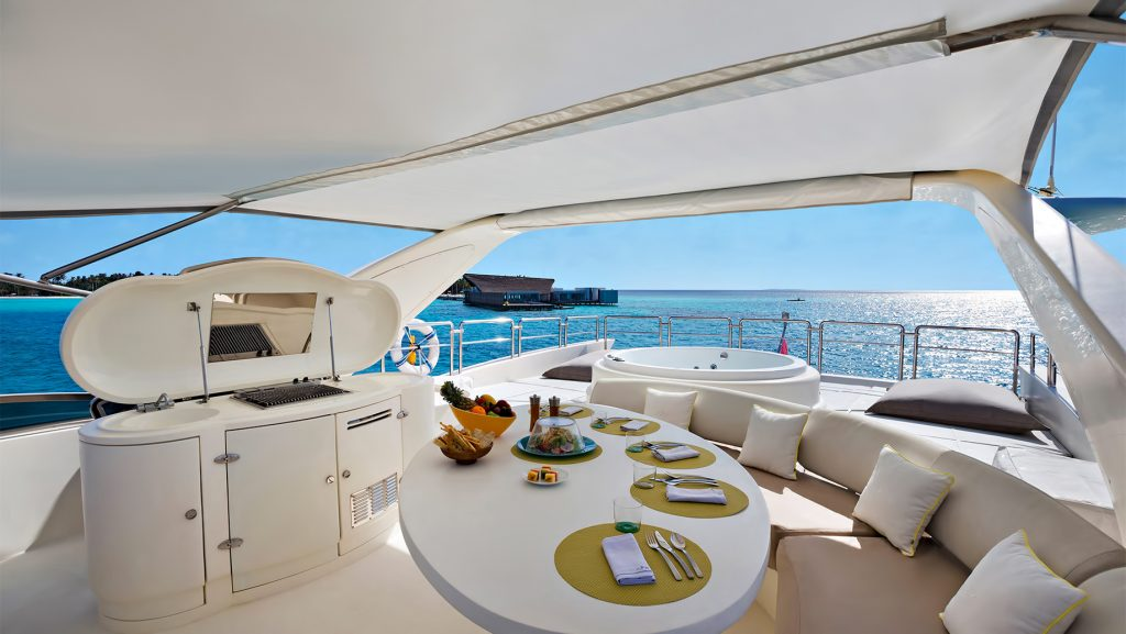 Cheval Blanc Randheli Luxury Resort - Noonu Atoll, Maldives - Azimut Yacht Interior