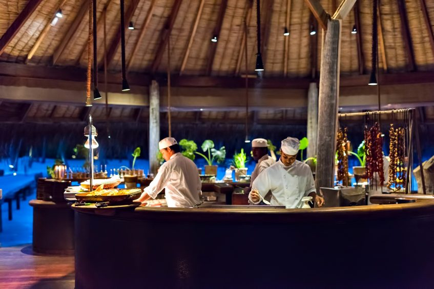 Gili Lankanfushi Luxury Resort - North Male Atoll, Maldives - Restaurant Chefs