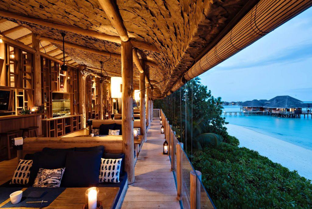 Gili Lankanfushi Luxury Resort - North Male Atoll, Maldives - Restaurant by the Sea