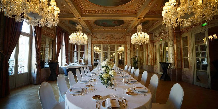 InterContinental Bordeaux Le Grand Hotel - Bordeaux, France - Banquet Room