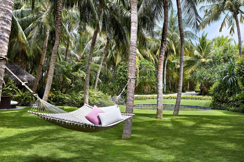 One&Only Reethi Rah Luxury Resort - North Male Atoll, Maldives - Spa Lawn Hammock