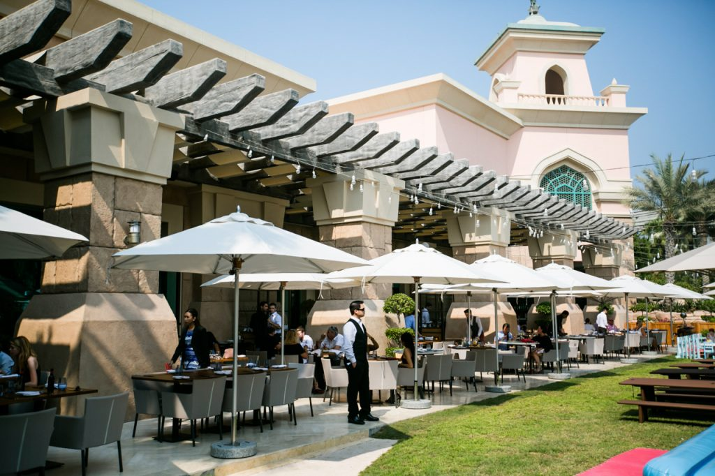 Atlantis The Palm Luxury Resort - Crescent Rd, Dubai, UAE - Gordon Ramsey Bread Street Kitchen and Bar Exterior