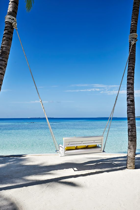 Cheval Blanc Randheli Luxury Resort - Noonu Atoll, Maldives - Private Island Palm Tree Swing