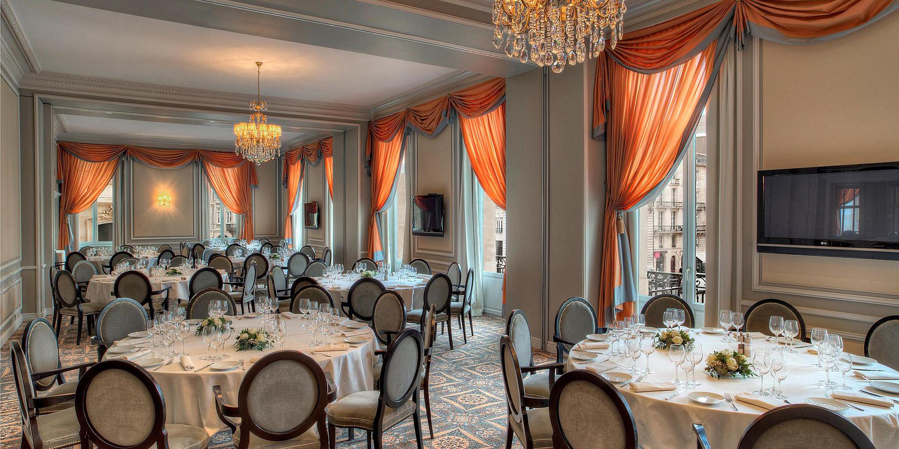 InterContinental Bordeaux Le Grand Hotel – Bordeaux, France – Saint-Emilion Banquet Room