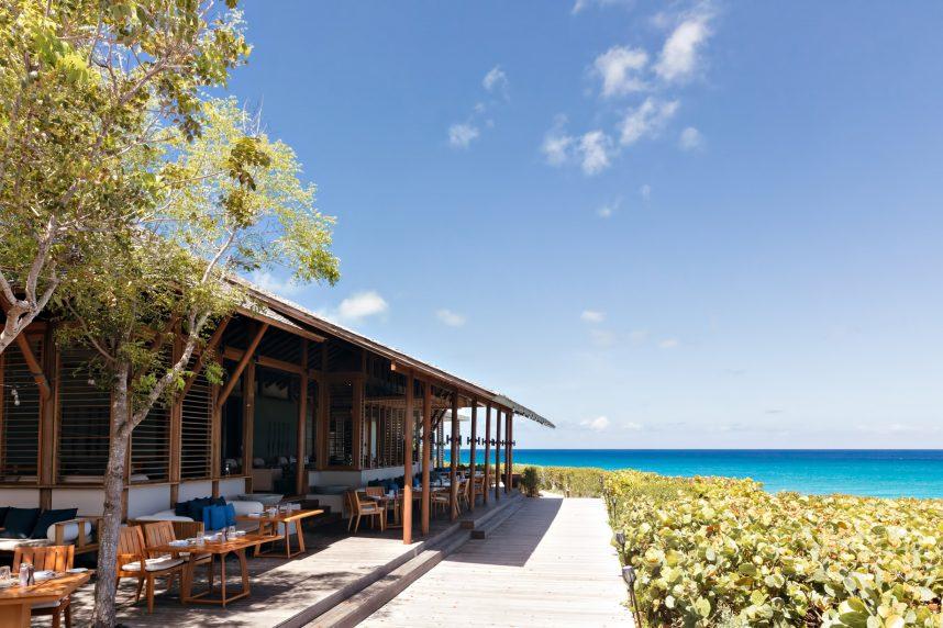 Amanyara Luxury Resort - Providenciales, Turks and Caicos Islands - Beach Bar