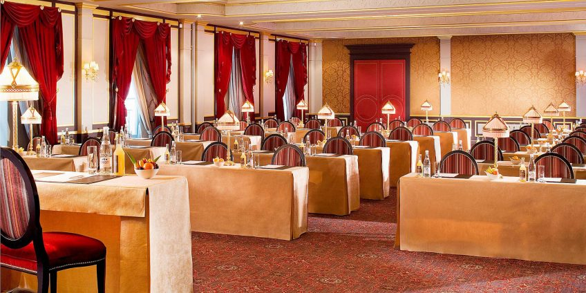 InterContinental Bordeaux Le Grand Hotel - Bordeaux, France - Margaux Meeting Room