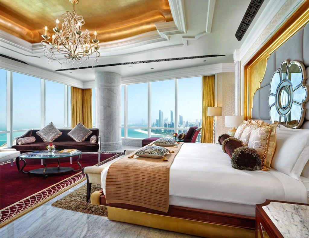 The St. Regis Abu Dhabi Luxury Hotel - Abu Dhabi, United Arab Emirates - Luxury Ocean View Suite