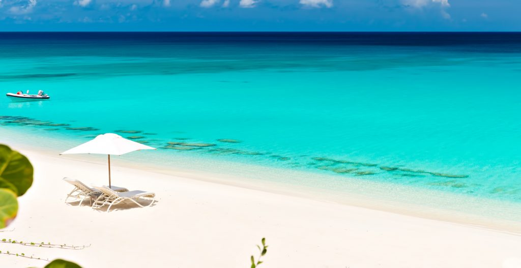 Amanyara Luxury Resort - Providenciales, Turks and Caicos Islands - Beach Office